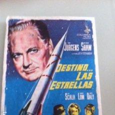 Cine: DESTINO LAS ESTRELLAS. Lote 115555583