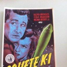 Cine: COHETE K.1. Lote 115590819