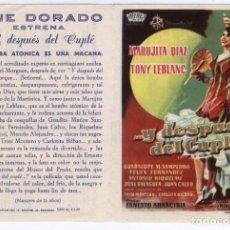 Cine: PROGRAMA DE CINE * ... Y DESPUÉS DEL CUPLÉ * 1969 - MARUJITA DÍAZ, TONY LEBLANC. Lote 115617223