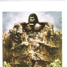 Cine: KING KONG PROGRAMA DE MANO MODERNO REPRODUCCION. Lote 115914211