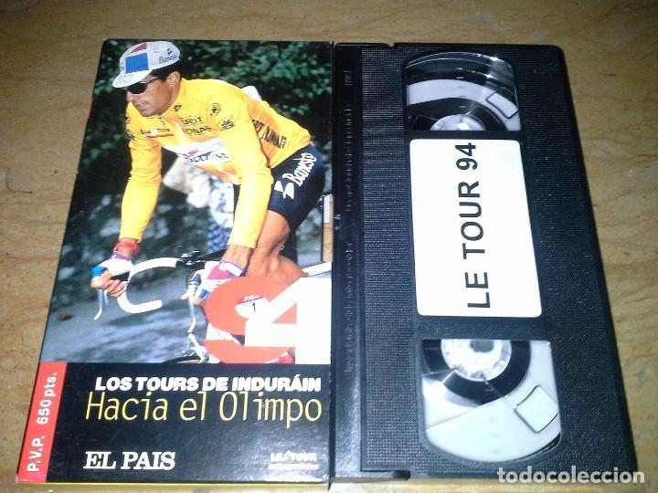 CINTA DE VIDEO DE INDURAIN DEL PAIS 1994. VER FOTO (Cine - Folletos de Mano - Deportes)