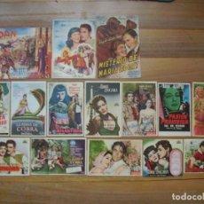 Folhetos de mão de filmes antigos de cinema: MARIA MONTEZ, 15 FOLLETOS DE SUS PELÍCULAS. Lote 116275055