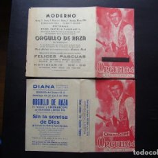 Cine: ORGULLO DE RAZA, ROCK HUDSON, VARIANTE. Lote 116275795
