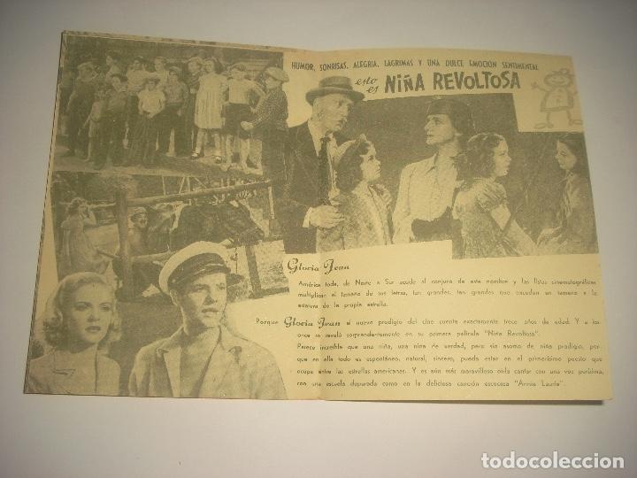 Cine: NIÑA REVOLTOSA , PROGRAMA DOBLE SIN PUBLICIDAD - Foto 2 - 116356899