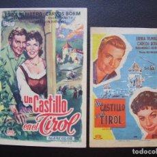 Cine: UN CASTILLO EN EL TIROL, ERIKA REMBERG, CARLOS BOHM. Lote 116585887