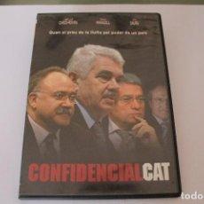 Cine: DVD CONFIDENCIALCAT QUAN EL PREU DE LA LLUITA PEL PODER ES UN PAIS EN CATALA. Lote 117398931