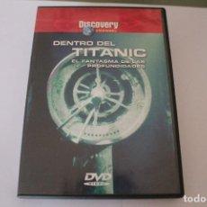 Cine: DVD DENTRO DEL TITANIC EL FANTASMA DE LAS PROFUNIDADES. Lote 117399007