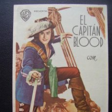 Cine: EL CAPITAN BLOOD, ERROL FLYNN, OLIVIA DE HAVILLAND, TEATRO MARIANA DE TALAVERA. Lote 117416955
