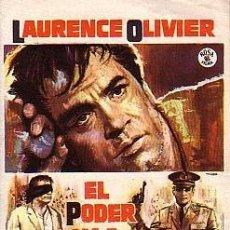 Cine: EL PODER Y LA GLORIA. Lote 117579579