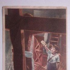 Cine: FOLLETO DE MANO, MARCELINO PAN Y VINO, PUBLICIDAD COLISEUM 1955. Lote 118036255