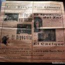 Cine: PROGRAMA CINE MUDO - 1929 - TEATRO BOSQUE - ARTESANO - UNIVERSAL - GAUMONT - 43X44CM. Lote 118537343