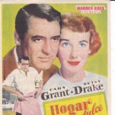 Cine: HOGAR DULCE HOGAR CON CARY GRANT, BETSY DRAKE AÑO 1953 EN CINEMAS LA RAMBLA Y PRINCIPAL. Lote 118621099