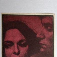Cine: FOLLETO DE CINE, UN INVIERNO EN MALLORCA CON LUCIA BOSE, AÑOS 60, SIN PUBLICIDAD . Lote 118635775
