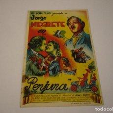 Cine: PERJURA CON JORGE NEGRETE AÑO 1946 SALON ESPAÑOL. Lote 118986775
