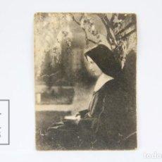 Cine: PROGRAMA DE CINE SIMPLE/TARJETA - SOR CARIDAD / CINE MUDO - EMELKA - AÑO 1928 - CON PUBLICIDAD. Lote 119006155