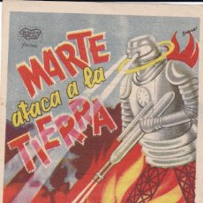Cine: MARTE ATACA A LA TIERRA CON BUSTER GRABLE, JEAN ROGERS, CHARLES MIDDLETON, FRANK SHANNON AÑO 1947. Lote 119467207
