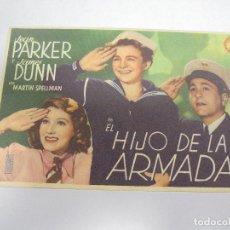 Cine: PROGRAMA DE CINE. S/P. EL HIJO DE LA ARMADA. Lote 119620367