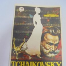 Cine: PROGRAMA DE CINE. S/P. TCHAIKOVSKY. Lote 143769226
