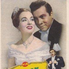 Cine: EL GRAN CARUSO CON MARIO LANZA Y ANN BLYTH EN CINE TEATRO PRINCIPAL Y CINEMA LA RAMBLA AÑO 1953. Lote 119909107
