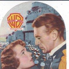 Cine: PUENTE DE MANDO CON GARY COOPER, JANE WYATT, WAYNE MORRIS, WALTER BRENNAN AÑO 1951. Lote 119910519