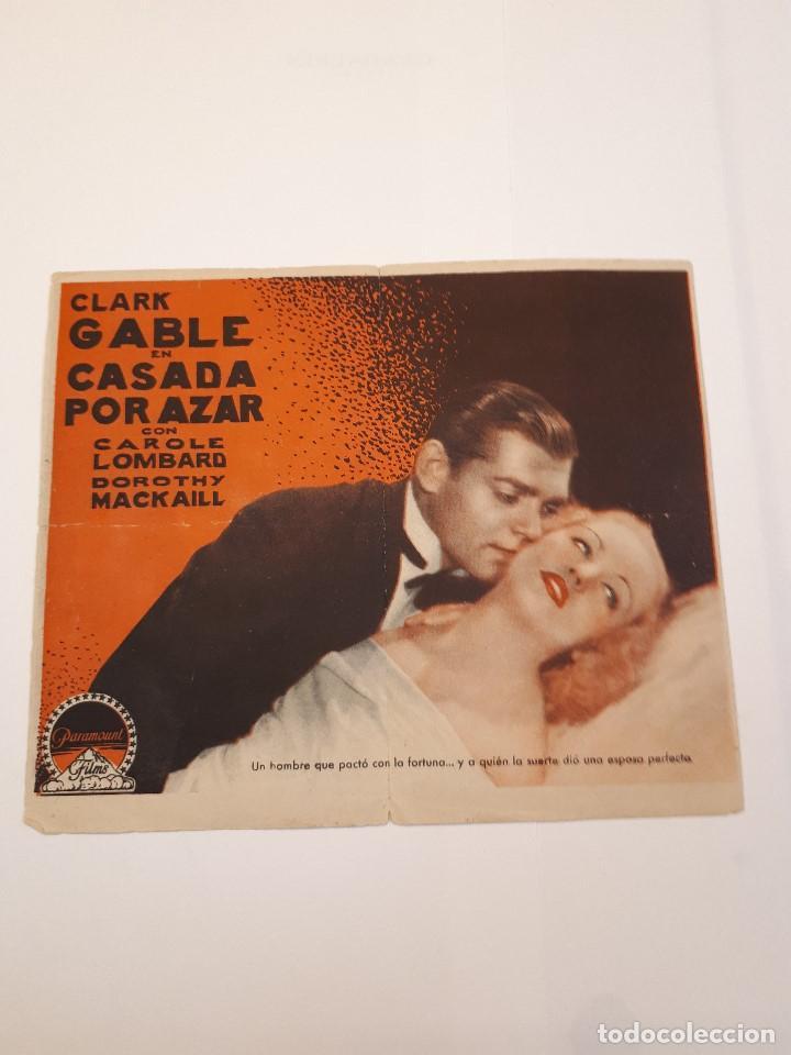 Cine: Casada por azar, Clark Gable. Paramount. Doble. - Foto 2 - 120038147