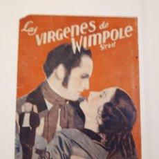 Cine: LAS VÍRGENES DE WIMPOLE STREET. DOBLE. Lote 120106051
