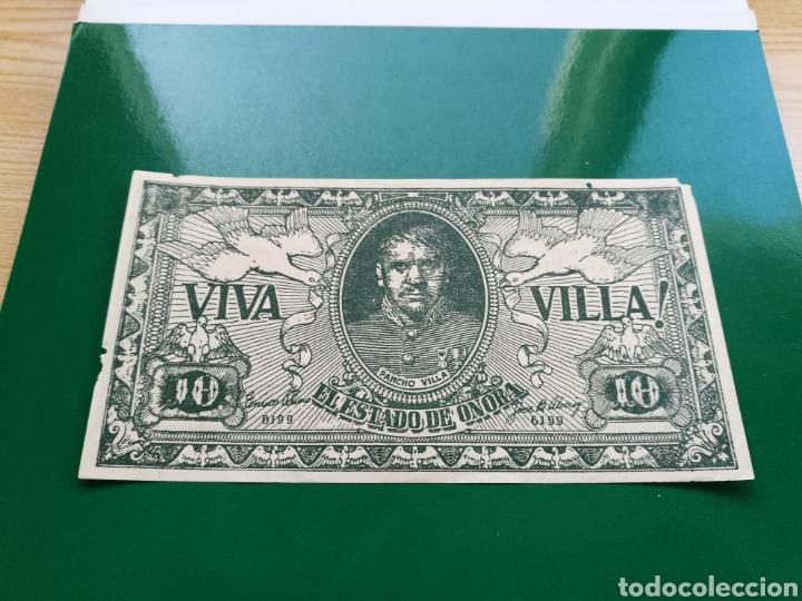 PROGRAMA DE CINE TROQUELADO EN FORMA DE BILLETE. VIVA VILLA (Cine - Folletos de Mano - Bélicas)