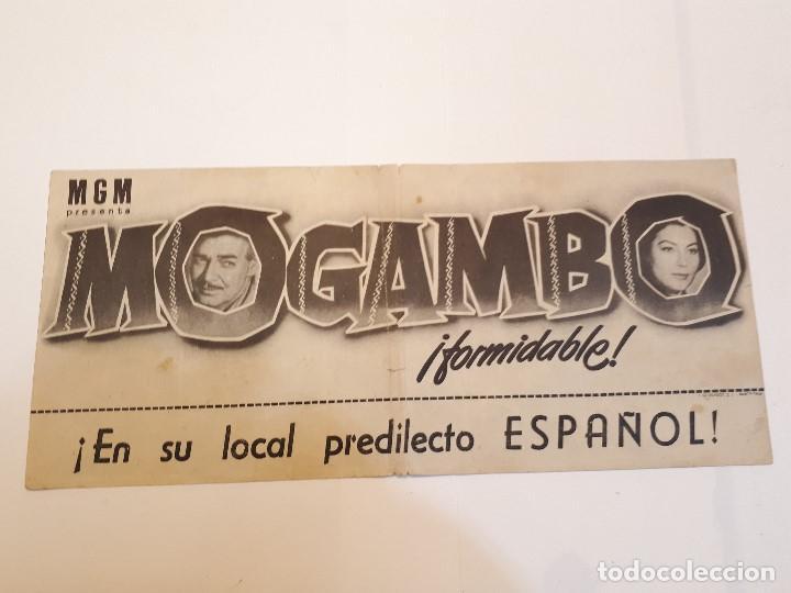 MOGAMBO (Cine - Folletos de Mano - Drama)
