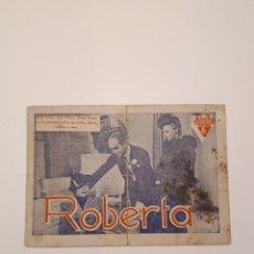 Cine: ROBERTA, CINE VICTORIA, MÁLAGA. 1940. Lote 120152395