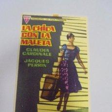 Flyers Publicitaires de films Anciens: PROGRAMA DE CINE. S/P. LA CHICA CON LA MALETA. Lote 120188767