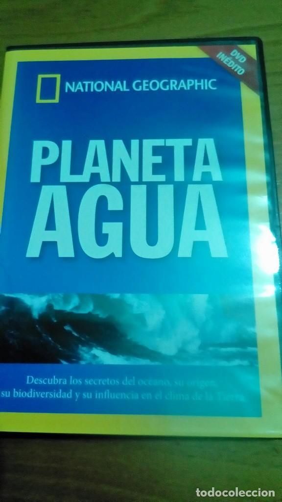 PLANETA AGUA, NATIONAL GEOGRAPHIC (Cine - Folletos de Mano - Documentales)