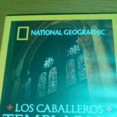 Cine: LOS CABALLEROS TEMPLARIOS, NATIONAL GEOGRAPHIC. Lote 120703747