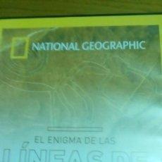 Cine: EL ENIGMA DE LAS LÍNEAS DE NASCA, NATIONAL GEOGRAPHIC. Lote 120703795