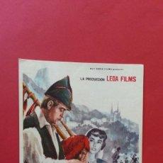 Cine: - ASI ES ASTURIAS - FOLLETO DE CINE, SIN PUBLICIDAD. . Lote 120811695
