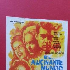Cine: - EL ALUCINANTE MUNDO DE LOS ASHBY - FOLLETO DE CINE, SIN PUBLICIDAD.. Lote 120812007