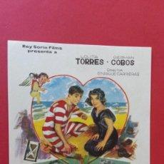 Cine: - 40 AÑOS DE NOVIOS - FOLLETO DE CINE, SIN PUBLICIDAD.. Lote 120813967