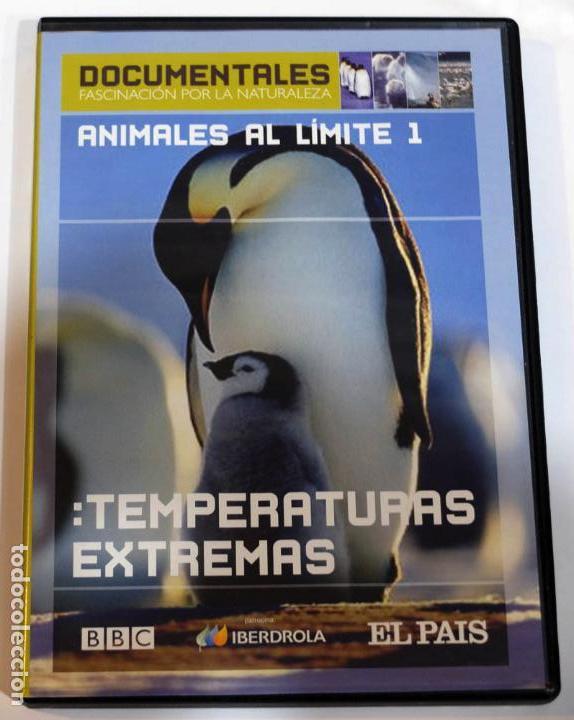 DVD PUBLICIDAD EL PAIS IBERDROLA, PELICULA DOCUMENTAL SOBRE ANIMALES AL LIMITE (Cine - Folletos de Mano - Documentales)