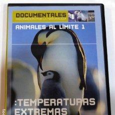 Cine: DVD PUBLICIDAD EL PAIS IBERDROLA, PELICULA DOCUMENTAL SOBRE ANIMALES AL LIMITE . Lote 120888035