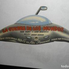 Cine: PROGRAMA TROQUELADO LA GUERRA DE LOS MUNDOS .- GENE BARRY BB. Lote 120913207