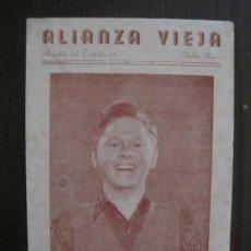 Cine: HORIZONTES DE GLORIA - PROGRAMA DE CINE-ALIANZA VIEJA -VER FOTOS-(C-4155). Lote 120950395