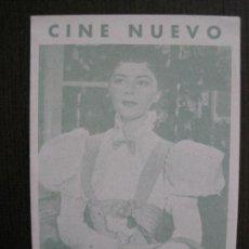 Cine: LA IMPORTANCIA DE LLAMARSE ERNESTO - PROGRAMA DE CINE- CINE NUEVO -VER FOTOS-(C-4159). Lote 120951791