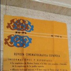Cine: CARTEL NODO N.1747 AÑO 1969. Lote 121272015