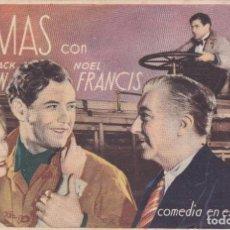 Cine: LLAMAS CON NOEL FRANCIS, JOHN MACK BROWN AÑO 1942 EN CINEMA LA RAMBLA. Lote 121313607