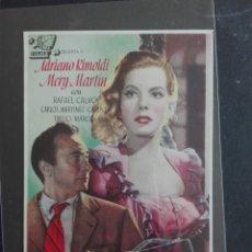 Cine: EL ANGEL GRIS-IGNACIO F.IQUINO-ADRIANO RIMOLDI-MERY MARTIN-CINE-ALMACENES ANALBERT-VILADOT-(1947). Lote 121313955