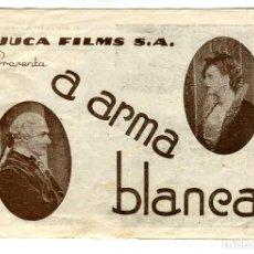 Cine: A ARMA BLANCA, CON LEDA GLORIA.. Lote 121725963