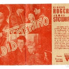 Cine: ARDIZ FEMENINO, CON JAMES STEWART.. Lote 121734655
