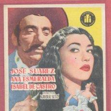 Cine: FOLLETO DE MANO ORIGINAL, BRONCE Y LUNA, SIN PUBLICIDAD, VER FOTOS. Lote 121892567