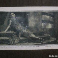 Cine: EL ARCA DE NOE - EXCLUSIVAS DIANA - CINE MUDO -VER FOTOS- (C-4188). Lote 121914795