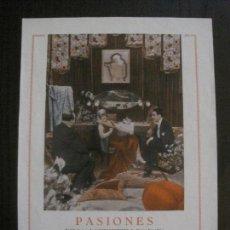 Cine: PASIONES - GAUMONT -VER FOTOS- (C-4199). Lote 121917239