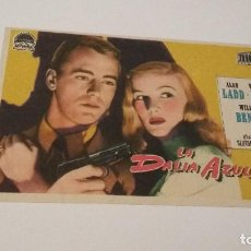 Cine: LA DALIA AZUL - ALAN LADD - VERONICA LAKE - WILLIAM BENDIX - S/P _AN. Lote 122148479
